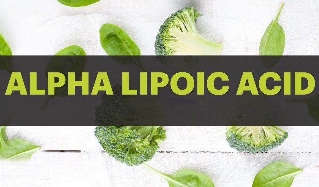 Alpha lipoic acid (ALA) – Khắc tinh của bệnh xơ vữa động mạch
